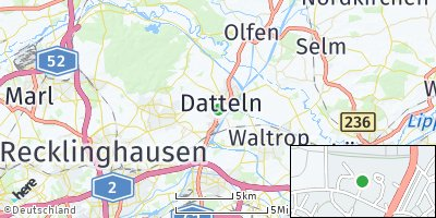 Google Map of Datteln
