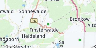 Google Map of Massen-Niederlausitz