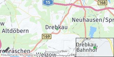 Google Map of Drebkau