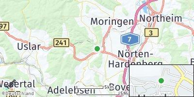 Google Map of Hardegsen