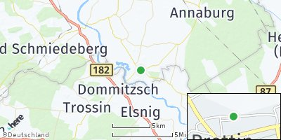 Google Map of Prettin