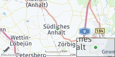 Google Map of Weißandt-Gölzau
