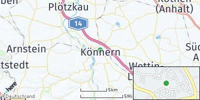 Google Map of Könnern