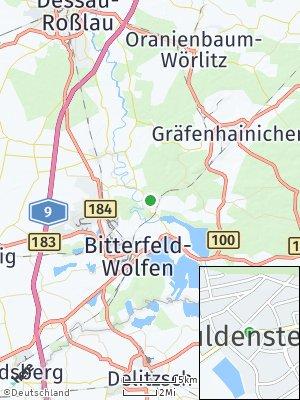 Here Map of Muldenstein
