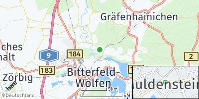 Google Map of Muldenstein