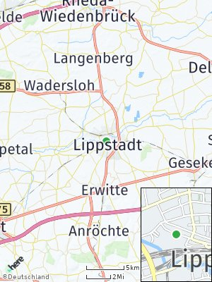 Here Map of Lippstadt