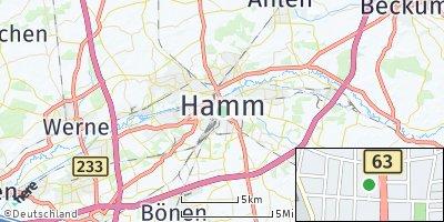 Google Map of Hamm