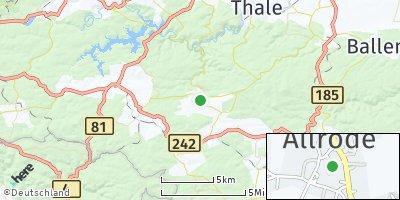 Google Map of Allrode