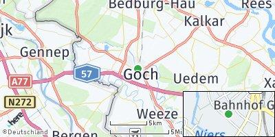 Google Map of Goch