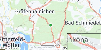 Google Map of Schköna