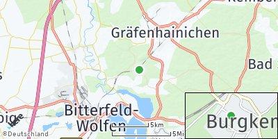 Google Map of Burgkemnitz
