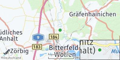 Google Map of Jeßnitz