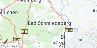 Google Map of Bad Schmiedeberg