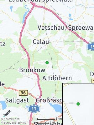 Here Map of Luckaitztal