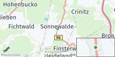 Google Map of Sonnewalde