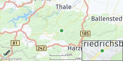 Google Map of Friedrichsbrunn