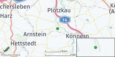 Google Map of Alsleben