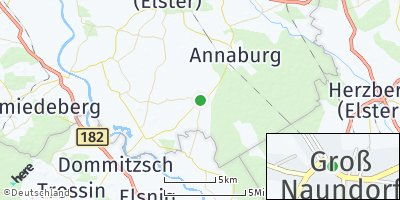 Google Map of Groß Naundorf