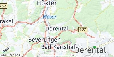 Google Map of Derental
