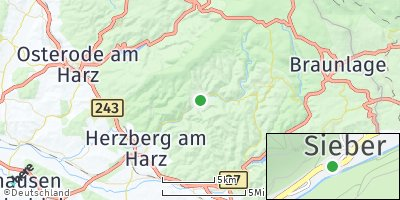 Google Map of Sieber