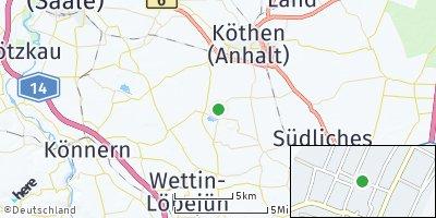 Google Map of Edderitz