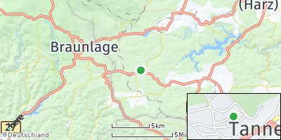 Google Map of Tanne