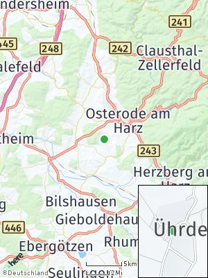 Here Map of Ührde