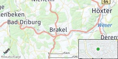 Google Map of Brakel