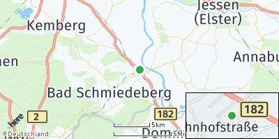 Google Map of Pretzsch