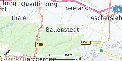 Google Map of Ballenstedt
