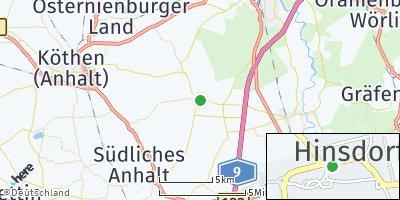 Google Map of Hinsdorf