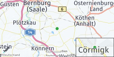 Google Map of Cörmigk