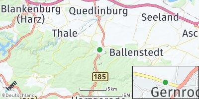 Google Map of Gernrode