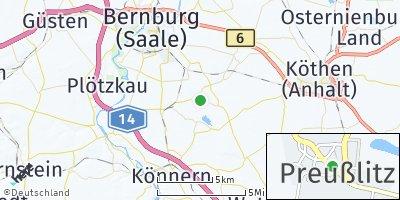 Google Map of Preußlitz