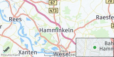 Google Map of Hamminkeln