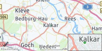 Google Map of Kalkar