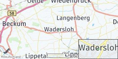 Google Map of Wadersloh