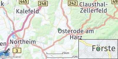 Google Map of Förste