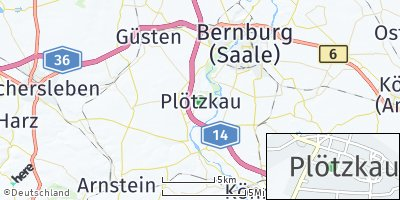 Google Map of Plötzkau