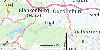Google Map of Thale
