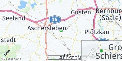 Google Map of Groß Schierstedt