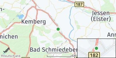Google Map of Trebitz