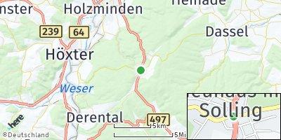 Google Map of Neuhaus im Solling