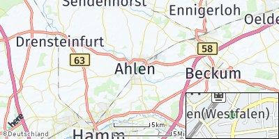 Google Map of Ahlen