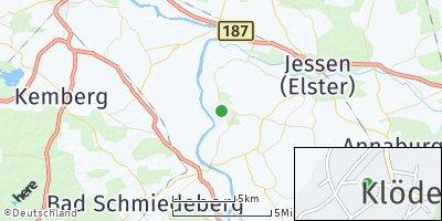 Google Map of Klöden