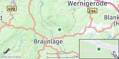 Google Map of Schierke am Brocken