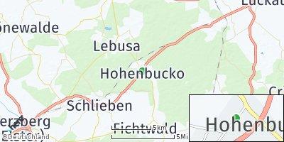 Google Map of Hohenbucko