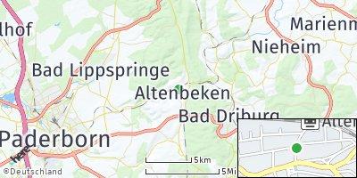 Google Map of Altenbeken