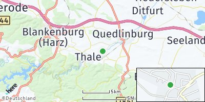 Google Map of Weddersleben