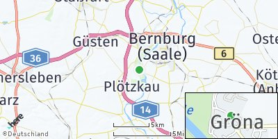 Google Map of Gröna